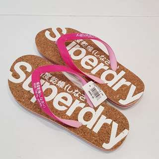 Brand New Superdry Flip Flops (Size M)
