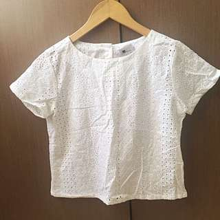 White Top Lace From Dot D'tails