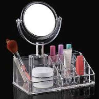 Product:  Acrylic Make Up Storage Lipstick With Mirror