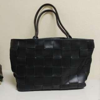 Bree Vintage Handbag black Leather