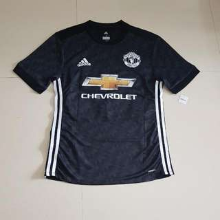 BNWT Manchester United 17/18 Away Kit With Free Printing