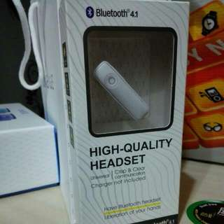 Bluetooth4.1 headset
