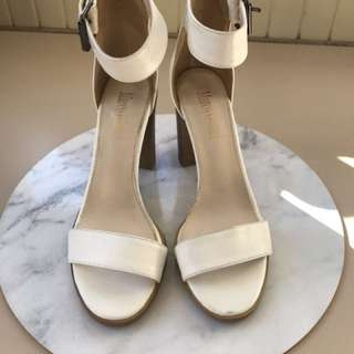 Size 38 - Marco Gianni Women's Ankle Strap Heel