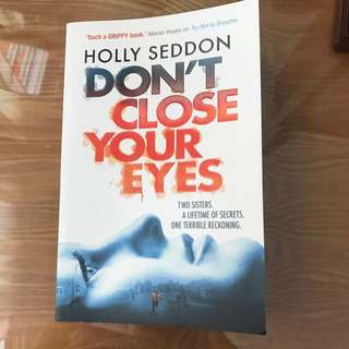 Holly Seddon - Don't Close Your Eyes