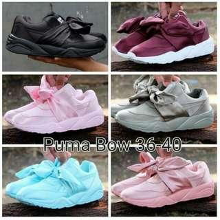 Puma Bow & Fenty Shoes