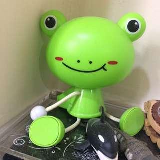 青蛙感應燈