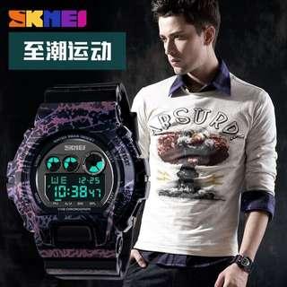 Skmei Dg 1150 Black/purple