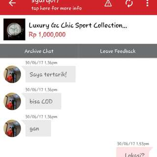 Testi..SOLD Gc No.strap By COD