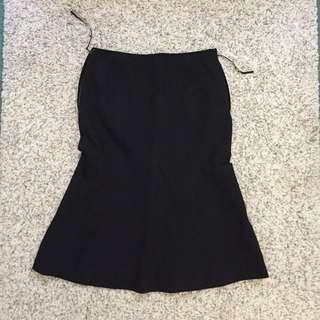 Black Liner Office Skirt (AU6)