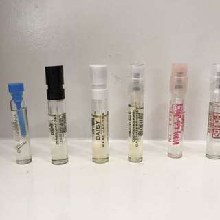 Authentic Perfume Vials