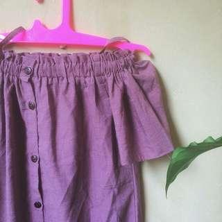 Sabrina Purple Dress