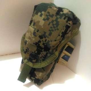 全新CORDURA 軍用 數位迷彩 防水 尼龍 耐用布料 登山露營 工具包 手機包 掛包