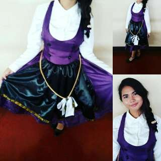 Violet Maid Dress outfit