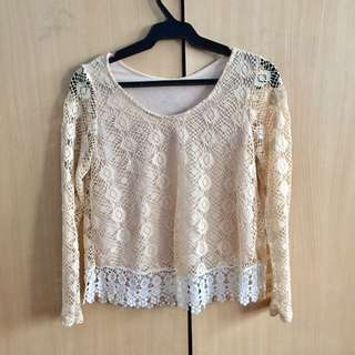 Knitted Semi-crop Top