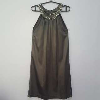 Cocktail Grey Dress Size Medium