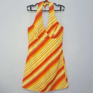 Reversible Cocktail Summer Dress Size Large