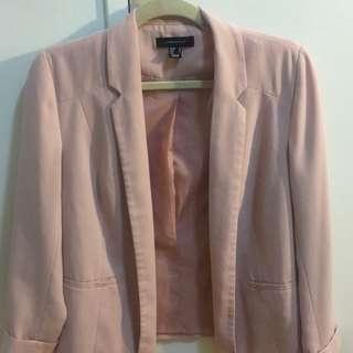 Blush Pink blazer