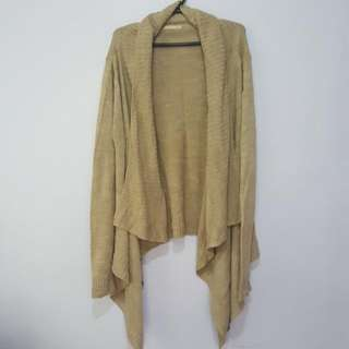 Terranova Brown Cardigan Size Medium