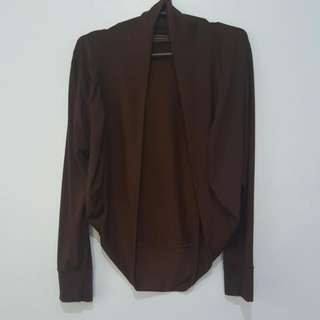 Brown Cardigan Freesize