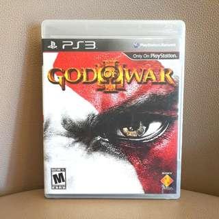 PS3遊戲片,便宜賣,God Of War,含運~