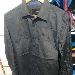 Hurley Disclaimer Shirt Cotton Fabric