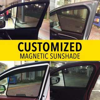 Customized Magnetic Sunshade-Vezel/HRV/Shuttle/Jazz/Civic/Odyssey/Jade/Qashqai/X-Trial and MORE