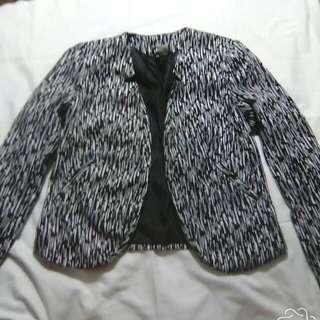 Black & White Coat