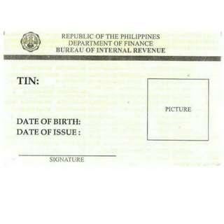 TIN ID Assistance.