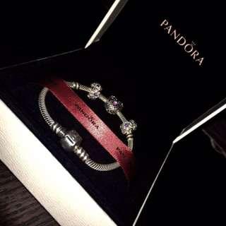 Pandora bracelet With Charms new