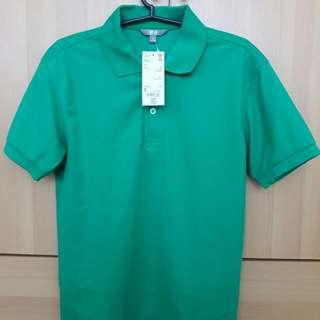 Uniqlo Poloshirt (Emerald Green) Size Small