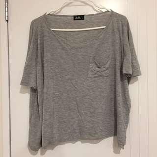 DOTTI Grey Top