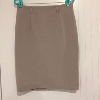 CHICA BOOTI Office Beige Skirt