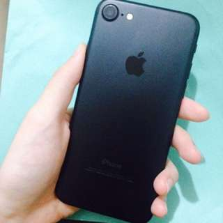 iPhone 7 128g 霧黑 保固內 全機完整 送終身保固玻璃貼