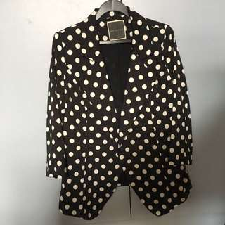 Polka Dotted Jacket
