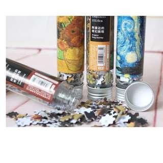 Mini Van Gogh Puzzles In A Bottle