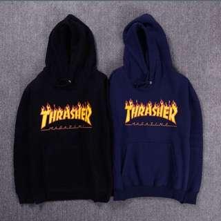 Thrasher Black Or Blue Hoodie