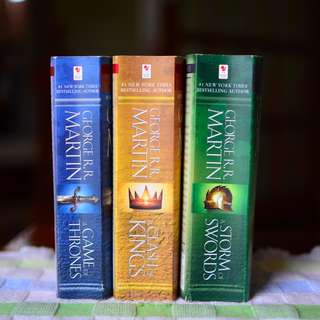 Game of Thrones Books 1-3