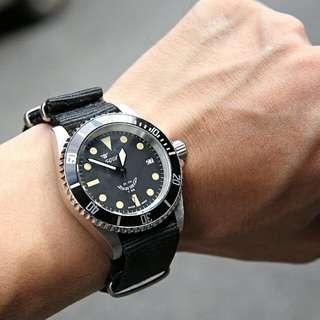 Squale復古時標潛水錶