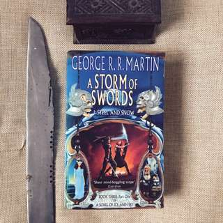 A Song of Ice and Fire Book 3 : A Storm Of Swords By George R. R. Martin