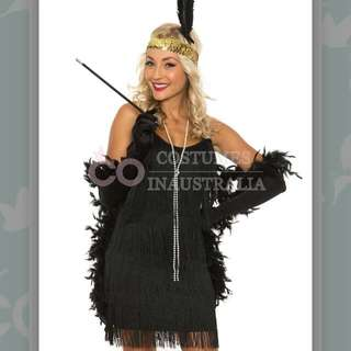 1920's Fancy Dress Flapper Costume