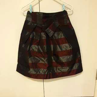 Cue Flared Knee Length Skirt Sz 8