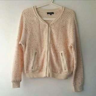 Nichii Knit Bomber Jacket