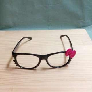 無鏡片造型眼鏡