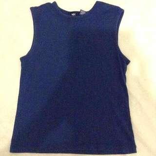 Mossimo Dark Blue Sleeveless Too