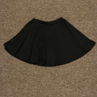Cotton On Black Flair Skirt
