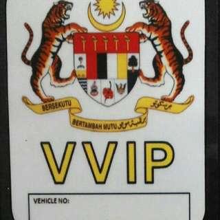 Johor VVIP Car Decal