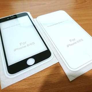 🚚 Apple i6/6s 膠合滿版玻璃貼