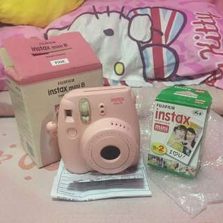 Instax Mini 8 With Film 😍😍