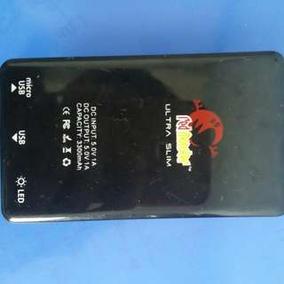 Red Monster Portable Charger