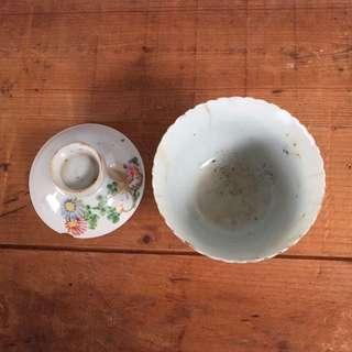 5320 Vintage Chinese Tea Cup